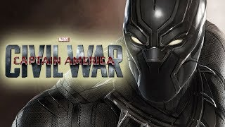 Captain America: Civil War with Black Panther Music
