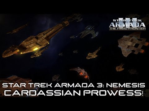 Cardassian Prowess! Star Trek Armada 3 - Cardassian/Dominion race updates preview