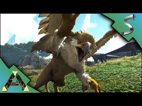 ARK GRIFFIN TAMING! NEW MAX LEVEL GRIFFIN TAMED! - Ark: RAGNAROK [DLC Gameplay E50]
