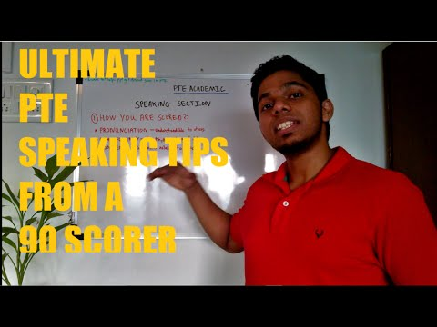 ULTIMATE PTE Speaking Tips from 90 Scorer (Part 1)