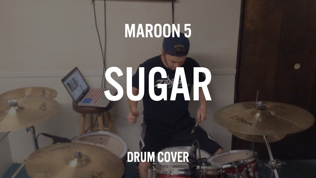 Maroon 5 - Sugar (Drum Cover) - YouTube