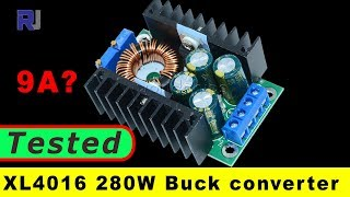 DC CC 9A 280W Step Down Buck Converter 7-40V To 1.2-35V XL4016 Module (tested under 12V)