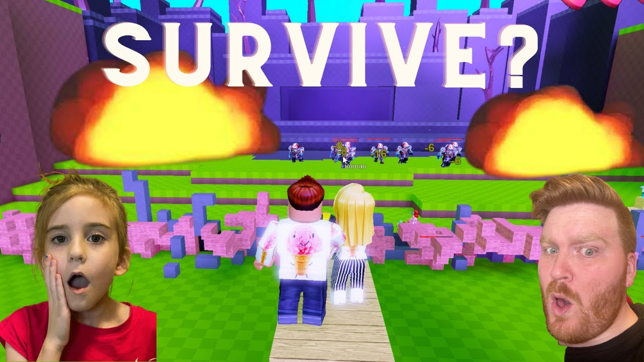 BUILD AND SURVIVE ROBLOX WILL WE SURVIVE