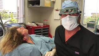 Face Lift, Neck Lift LIVE! Awake! Dr. Thomas Barnes, Newport Beach Cosmetic Surgeon, Orange County!