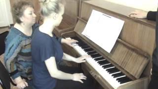 Концертмейстерский класс, фрагмент урока 01 (фортепиано)