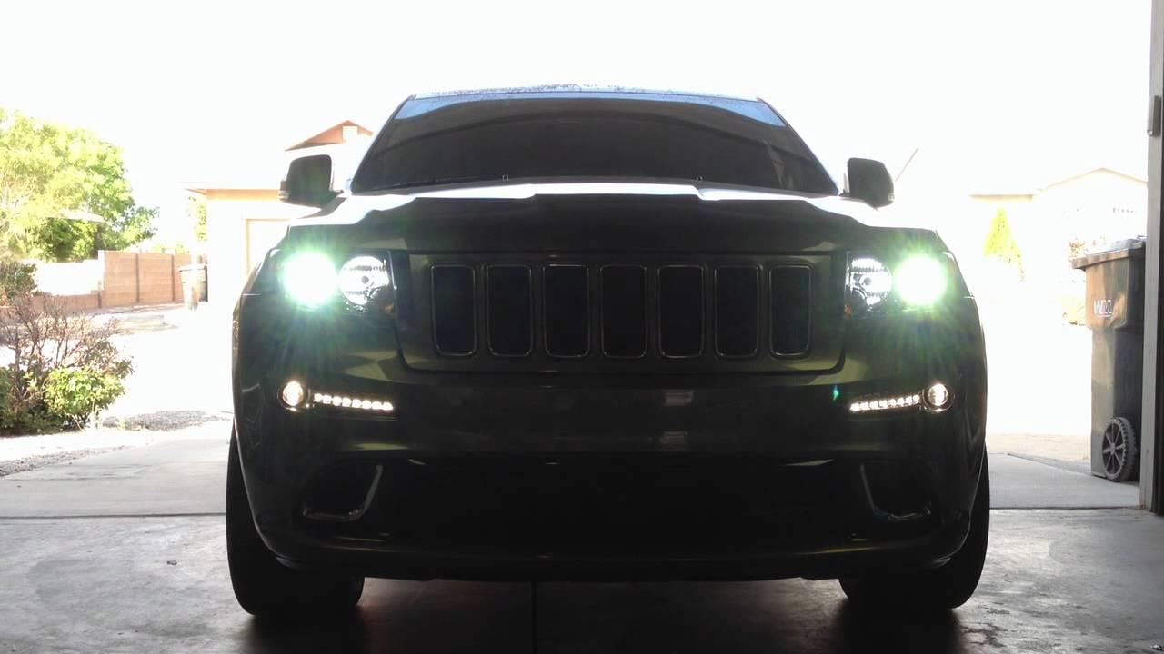 2012 jeep srt8 headlights