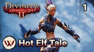 Hot Elf Tale #1 - Divinity: Original Sin 2 Tactician Gameplay & Roleplay