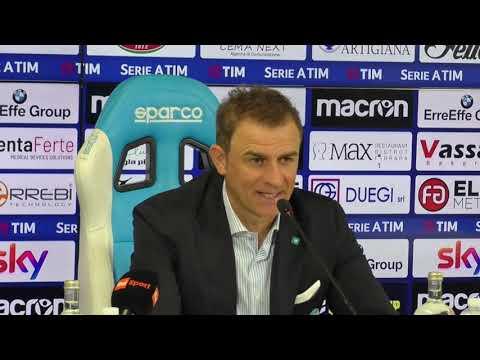 """Conferenza Semplici post Roma: """"Gara perfetta. Nel finale la parata di Viviano è stata determinante"""""""