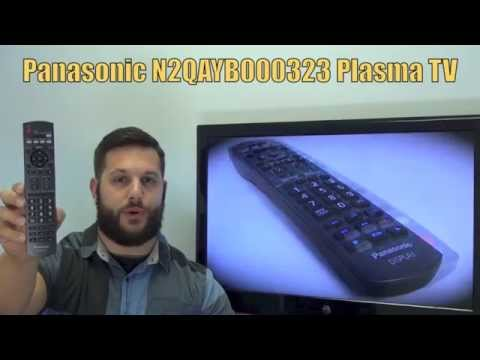 Panasonic N2QAYB000323 Plasma TV Remote - Www.ReplacementRemotes.com