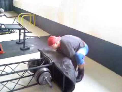 tire flip machine