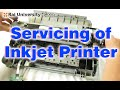 Service Level Setting Manual Reading of Inkjet Printers