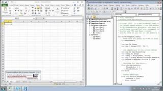 ОНЛАЙН-урок (фрагмент) по курсу VBA для Excel. УЦ