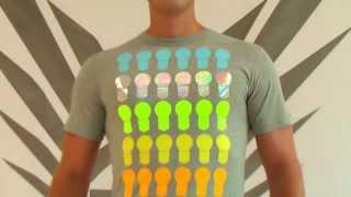 Shirt in Grau: Streetwear Shirt im Urban Style