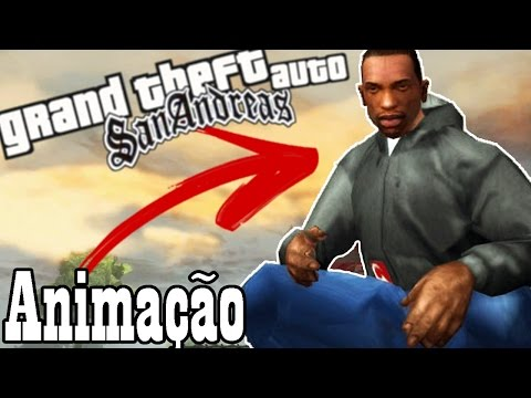 GTA SAN ANDREAS Mods #15 - NOVAS ANIMAÇÕES MOD & A RAINHA DO GTA