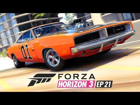 DRIFTEN ALS EEN MALLE! - FORZA HORIZON 3 #21
