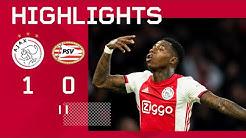 Highlights Ajax - PSV | Quincy Promes matchwinner! | Eredivisie