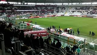 contestazione alla fine di Toro Fiorentina