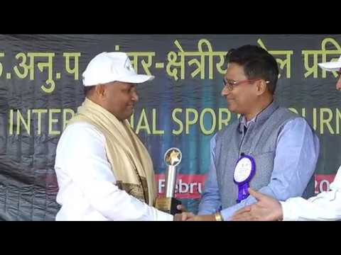 Inauguration of ICAR Inter Zonal Sports Tournament 2017 at H
