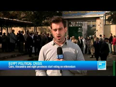 Egypt Political crisis : Cairo, Alexandria and eight provinces start voting on referendum