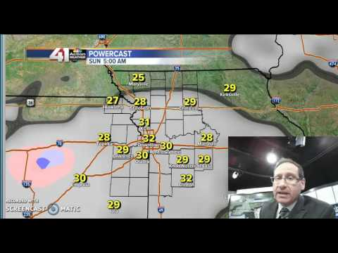 Jeff Saturday Blog Weather Update 2 25 17