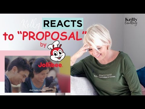 Kelly Reacts to Proposal /Jollibee Commercial