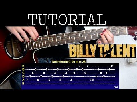 Cómo tocar Nothing to lose de Billy Talent (Tutorial Guitarra)