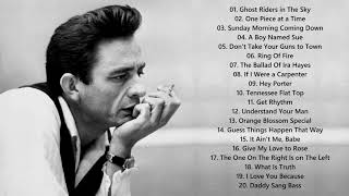 Top 20 Johnny Cash Songs - Johnny Cash Greatest Hits Full Playlist 2021