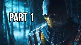 Mortal Kombat X Walkthrough Gameplay Part 1 - Story Chapter 1 (60FPS 1080p)