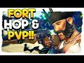 Sea of Thieves - 🔴We're Live - Fort Hop & PvP!! - Huge PvP Update on 29th