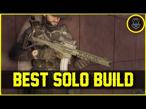 BEST Solo Build! Hybrid + gameplay (The Division 1.6)
