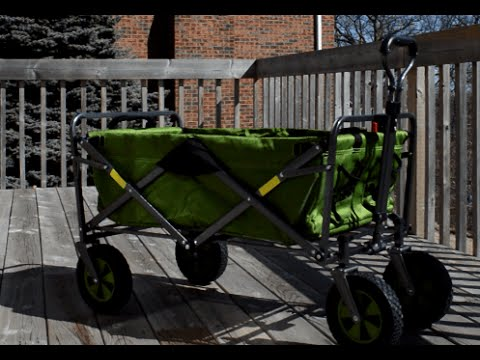 Collapsible Wagon From Costco Youtube