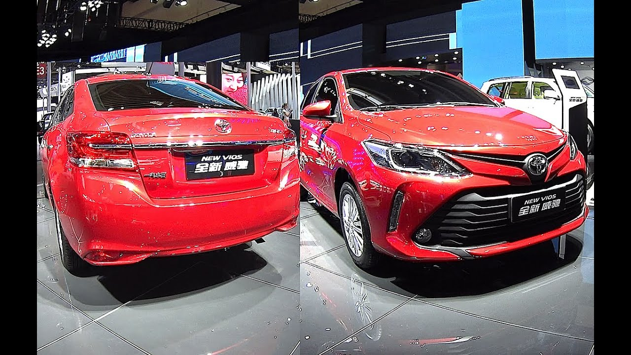 All New Toyota Vios 2017 2018 Model Coming Soon With A