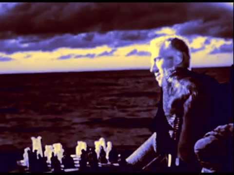 Det sjunde inseglet - The Seventh seal ( Color and  English speaking Version) with  Clint Eastwood