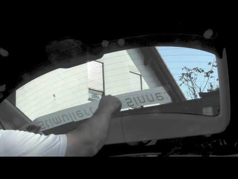 Autoaufkleber Auf Heckscheibe Anbringen 001