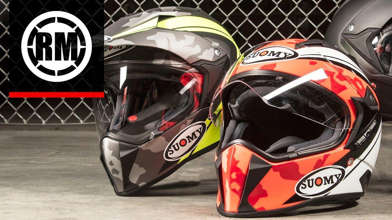 suomy mx tourer  Suomy MX Tourer Adventure Helmet - YouTube