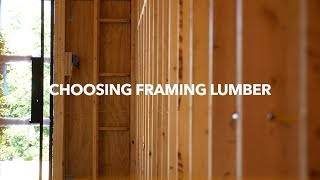 Choosing Framing Lumber thumbnail