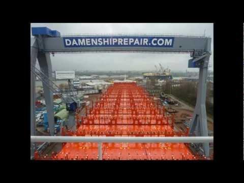 Time Lapse Port of Rotterdam mv Santa Catarina