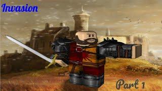 Roblox Medieval: Divertirse con el grupo (Invasión)