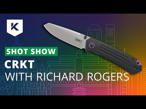 New CRKT Knives For 2020 With Richard Rogers (CRKT CEO) At Shot Show 2020 - Knivesandtools.com