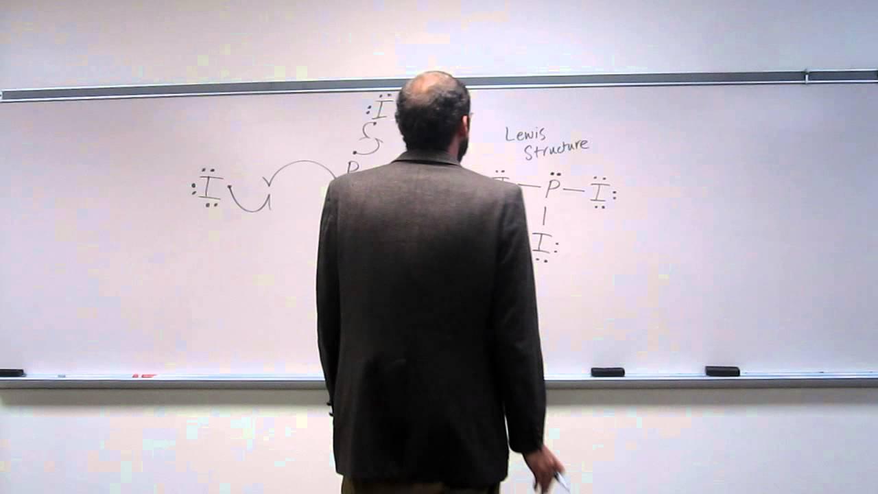 vsepr theory phosphorous triiodide pi3 010 youtube