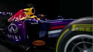New RB9 - Infiniti Red Bull Racing 2013 car    Formula 1 2013