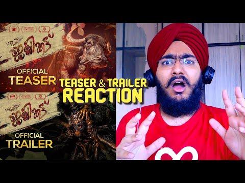 Jallikattu Trailer REACTION   Lijo Jose Pellissery   Chemban Vinod   Antony Varghese