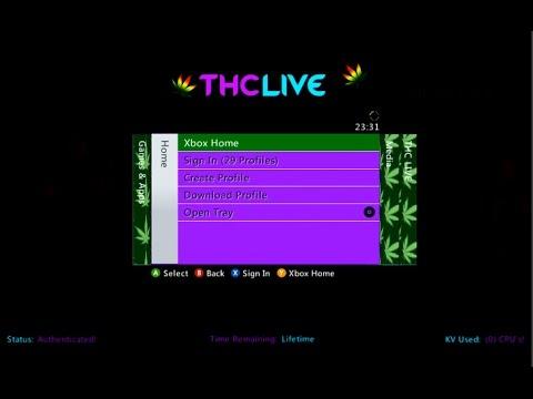 THC LIVE Stealth Server 17511 For JTAG/RGH ONLINE Dashboard