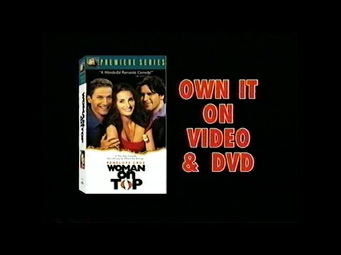 WOMAN ON TOP MOVIE  VHS 2003