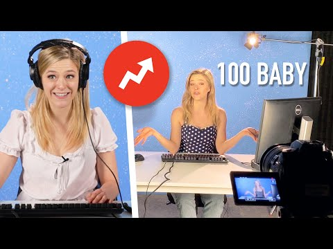 A Day In The Life Of BuzzFeed's 100 Baby Challenge | Kelsey Impicciche
