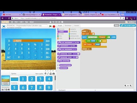 BASIC Programming Language in the Scratch 2 Editor & Alpine Skiing