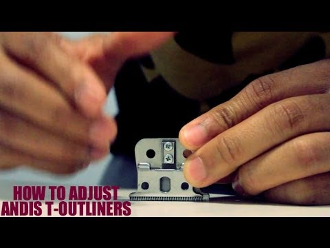 how to fix andis t outliner