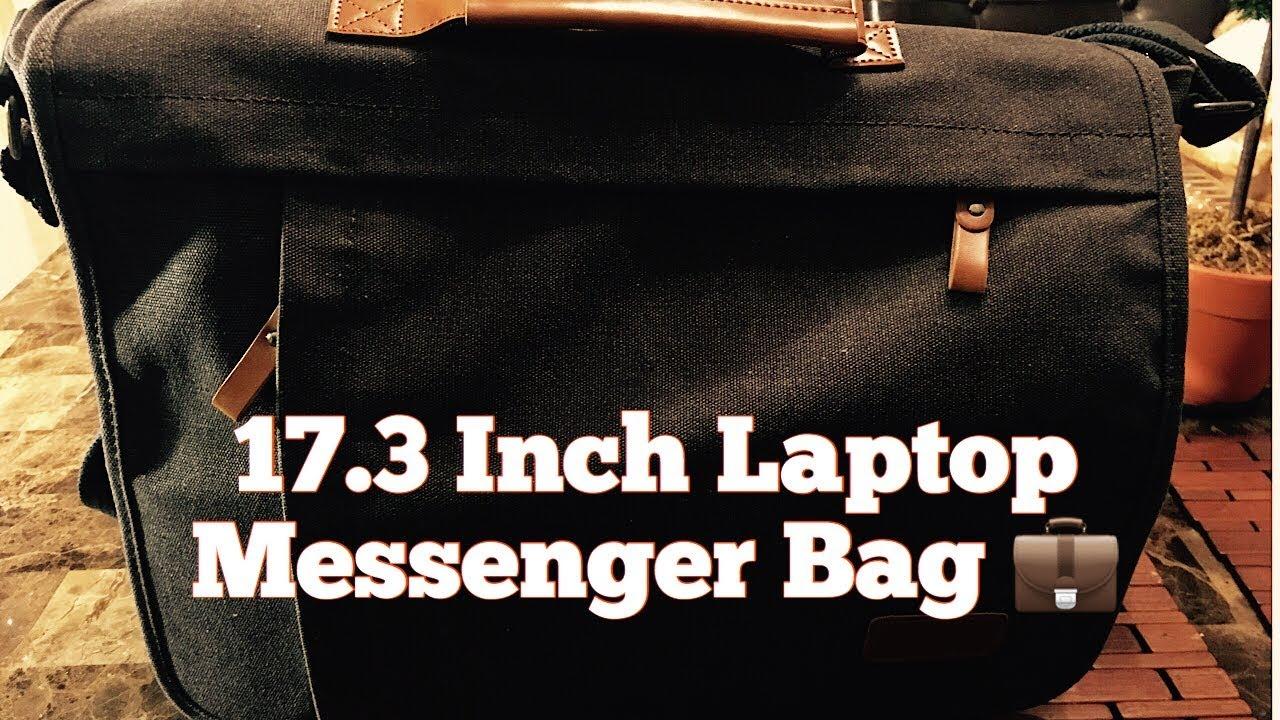 Estarer 17 3 Inch Laptop Messenger Bag