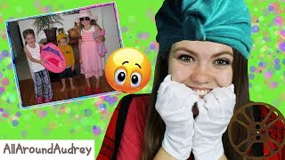 Reacting To Funny Childhood Photos!! / AllAroundAudrey