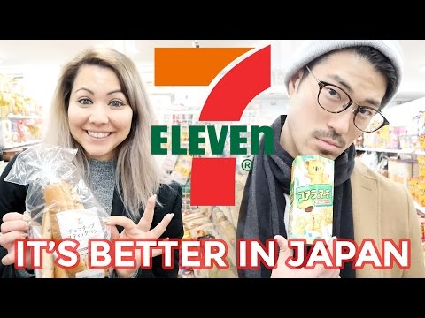 IT'S BETTER IN JAPAN: 7-ELEVEN